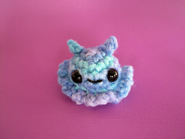 FREE Pattern: Crochet Mini Jelly Bunny