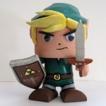 Legend of Zelda Link Color Blanks Figure