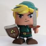Legend of Zelda Link Color Blanks Figure
