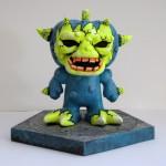 custom Halloween Color Blanks figure
