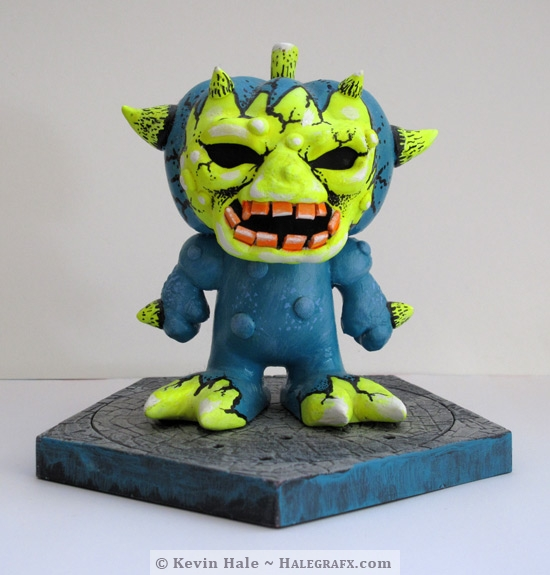 Customized Halloween Color Blanks Figure