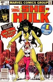 She-hulk comic cover 1