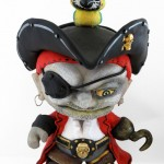 A Color Blanks Pirate for Talk Like a Pirate Day