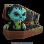 Halloween Zombie Color Blanks Figure