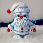 Christmas Frost Santa Color Blanks Figure