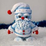 Christmas Frost Santa Color Blanks Figure