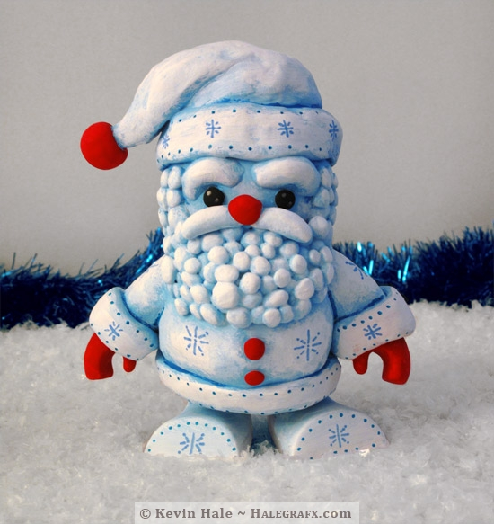 Frost Santa Color Blanks Figure