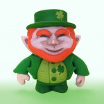 Leprechaun Color Blanks Figure for St. Patrick's Day