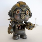 Steampunk Megaman Custom Vinyl Figure