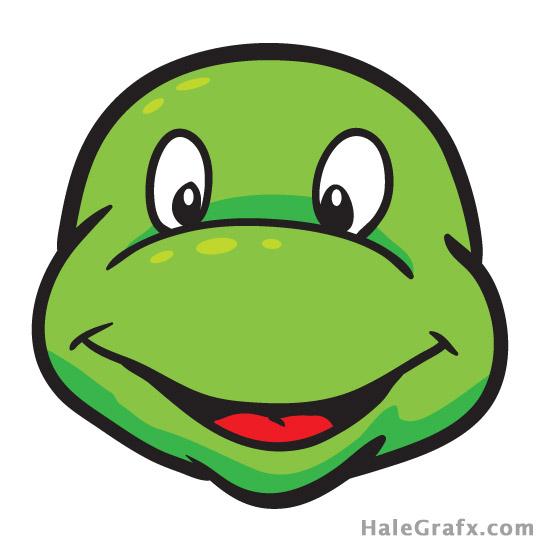 Pin the mask on the Teenage mutant ninja turtle - no masks