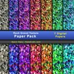 FREE Rock Gravel Texture Digital Paper Pack