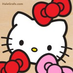 FREE Hello Kitty Pin the Bow Printable