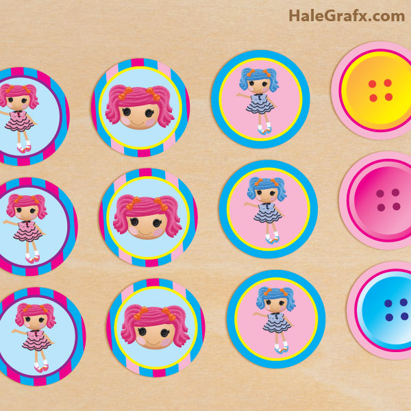http://halegrafx.com/printables/free-printable-lalaloopsy-cupcake-toppers/