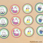 FREE Printable Max and Ruby Cupcake Toppers