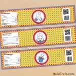 FREE Printable Max and Ruby Water Bottle Labels