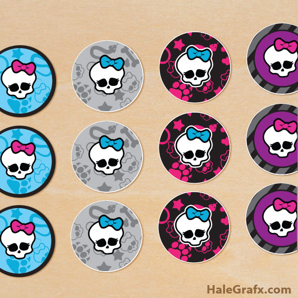 Free Printable Monster High Labels Free Printable Monster High