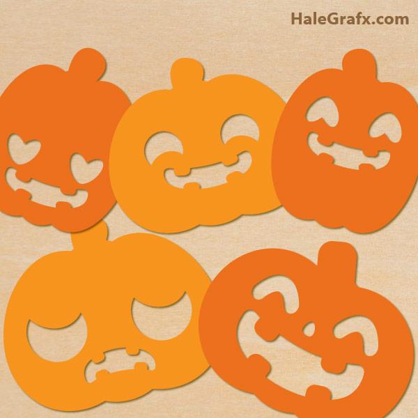 FREE Halloween Pumpkin SVG Pack
