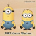 FREE Vector Despicable Me Minions