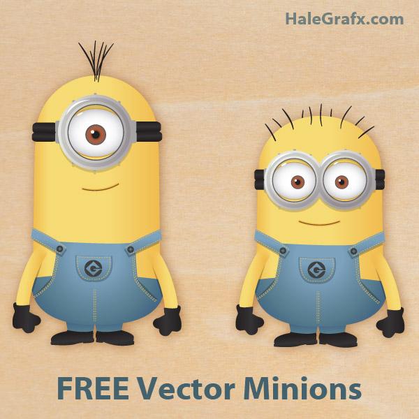 Vector Despicable Me Minions