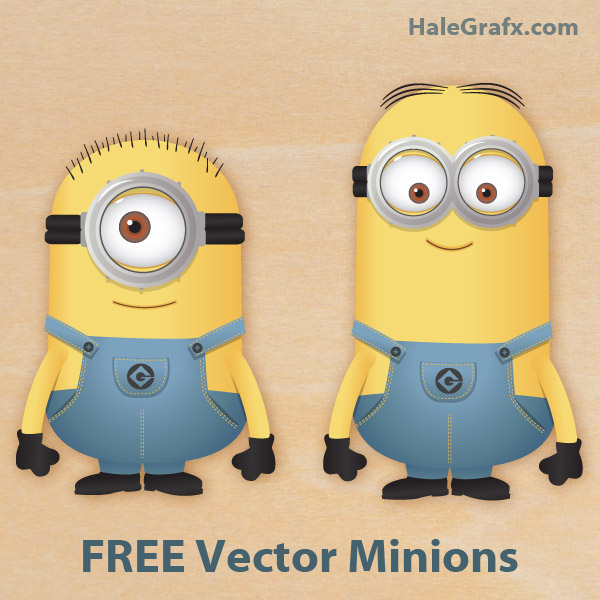 FREE Vector Despicable Me Minions