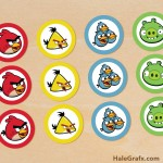 FREE Printable Angry Birds Cupcake Toppers