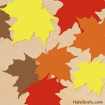 FREE Autumn leaves SVG Pack