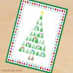 FREE Printable Christmas Tree Greeting Card and 8×10 Print