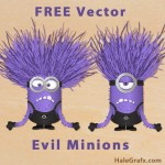 FREE Vector Despicable Me 2 Evil Minions