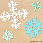 FREE Christmas LEGO Snowflake SVG Pack