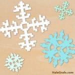 FREE Christmas LEGO Snowflake SVG Pack