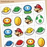 FREE Printable Super Mario Bros. Memory Game