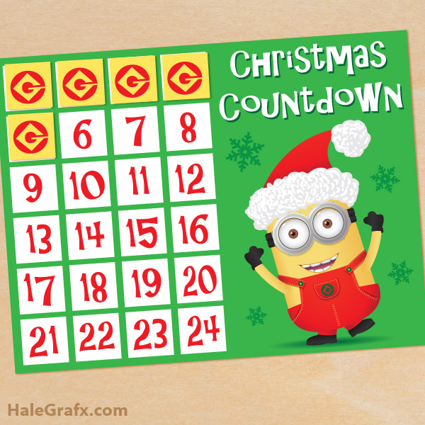 Printable Christmas Countdown | galleryhip.com - The Hippest Galleries ...