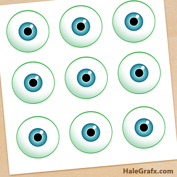 photo relating to Free Printable Eyes identify Cost-free Monsters Inc. Pin the Eye upon Mike Printable