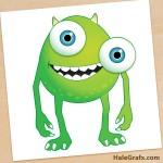 FREE Monsters Inc. Pin the Eye on Mike Printable