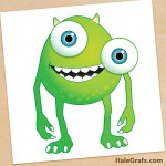 FREE Monsters Inc. Pin the Eye on Mike Printable
