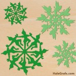 FREE Christmas Peter pan and Tinkerbell Snowflake SVG Pack