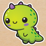 Free dinosaur graphics and printables