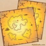 FREE Printable Pirate Treasure Maps