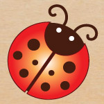 Free ladybug graphics and printables