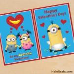 FREE Printable Despicable Me Minion Valentines