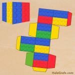FREE Printable LEGO Brick Treat Box