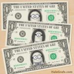 FREE Printable Despicable Me Minion Play Money