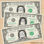 FREE Printable Despicable Me Minion Play Money