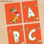 FREE Printable Green Eggs & Ham Alphabet Banner Pack