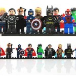 9 Super Hero Building Block Minifigure Giveaway