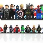 9 Super Hero Building Block Minifigure Giveaway