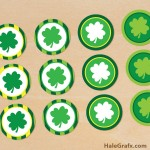 FREE Printable St. Patrick's Day Cupcake Toppers