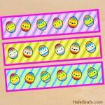 FREE Printable Easter Egg Water Bottle Labels