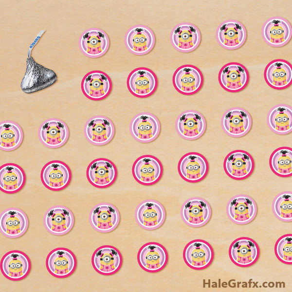 Printable Stickers for Hershey Kisses | just b.CAUSE