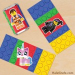 FREE Printable LEGO Movie Mini Candy Bar Wrappers